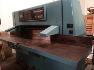 Wholenberg 115 cutting machine